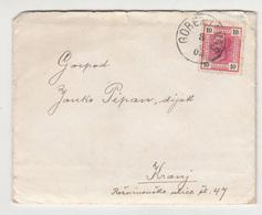 Austria Slovenia Letter Travelled 1905 Gorenja Vas To Kranj B190220 - Slovenia