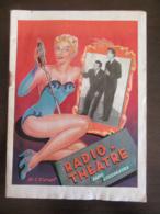 Programme Ancien - Radio Théâtre / Radio Luxembourg - Vers 1955 - Programs