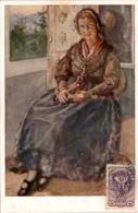 Kärntner Trachtenbilder - Nr. 6 - Rosentalerin - Unclassified