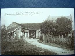 21 ,quétigny ,le Café Du Centre En 1934.......circulée Non Timbrée....rare - France