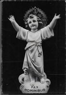STATUA DI GESU' BAMBINO - SCRITTA AL RETRO - Cristianesimo