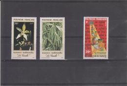 POLYNESIE  FRANCAISE  1990 PETIT LOT  TIMBRES NEUFS XX - Polynésie Française