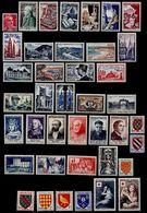 France 1954  Année Complète N** Yvert Du N° 968 Au N° 1007 - France