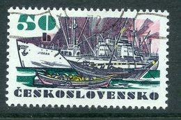 "Y85 Czechoslovakia 1972 2091 Czechoslovak Ocean Vessels. Ships Fleet. Cargo Ship ""Iskra"" - Tchécoslovaquie"