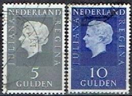 NETHERLAND  #  FROM 1970 STAMPWORLD 944-45 - Period 1949-1980 (Juliana)