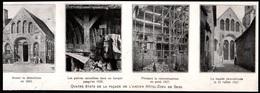 1927  --  SENS  QUATRE ETATS DE LA FACADE DE L ANCIEN HOTEL DIEU  3Q752 - Old Paper