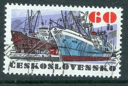 """Y85 Czechoslovakia 1972 2092 Czechoslovak Ocean Vessels. Ships Fleet. Ship """"Item"""" - Tchécoslovaquie"""