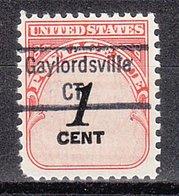 USA Precancel Vorausentwertung Preo, Locals Connecticut, Gaylordsville 843 - Vereinigte Staaten
