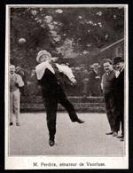 1927  --  PARLEMENTAIRES JOUEURS DE PETANQUE M PERDRIX SENATEUR VAUCLUSE  3Q753 - Old Paper