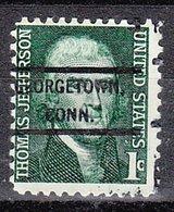 USA Precancel Vorausentwertung Preo, Locals Connecticut, Georgtown 807 - Vereinigte Staaten