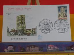 Abbaye Saint Michel De Cuxa - 66 Codalet - 6.7.1985 FDC 1er Jour N°1434 - Coté 2€ - FDC