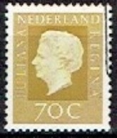 NETHERLAND  #  FROM 1972 STAMPWORLD 980 - Period 1949-1980 (Juliana)