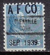 USA Precancel Vorausentwertung Preo, Locals Connecticut, Glenville 734, Dated - Vereinigte Staaten