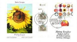 "BRD Schmuck-FDC  ""Europa: Ferien"", Mi. 2397 ZF ESSt 6.5.2004 BONN - BRD"