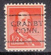 USA Precancel Vorausentwertung Preo, Locals Connecticut, Grabny 701 - Vereinigte Staaten