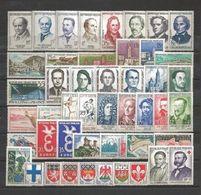 France 1958  Année Complète N** Yvert Du N° 1142 Au N° 1188 - France