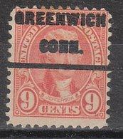 USA Precancel Vorausentwertung Preo, Locals Connecticut, Greenwich 641-232 - Vereinigte Staaten