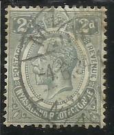 RHODESIA (RODESIA) & NYASALAND 1921 1930 KING GEORGE RE TWO PENCE 2p USATO USED OBLITERE' - Rhodesia & Nyasaland (1954-1963)