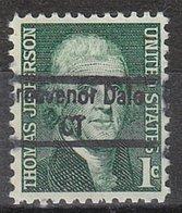 USA Precancel Vorausentwertung Preo, Locals Connecticut, Grosvenor Dale 843 - Vereinigte Staaten
