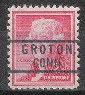 USA Precancel Vorausentwertung Preo, Locals Connecticut, Groton 801 - Vereinigte Staaten