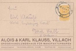 Austria Cartolina Postale Pubblicitaria - Austria