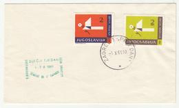 Yugoslavia Children's Week 1961 Postal Tax Stamps FDC B190220 - 1945-1992 République Fédérative Populaire De Yougoslavie