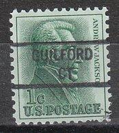 USA Precancel Vorausentwertung Preo, Locals Connecticut, Guilford 841 - Vereinigte Staaten