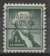 USA Precancel Vorausentwertung Preo, Locals Connecticut, Haddam 729 - Vereinigte Staaten