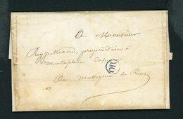 """LAC POUR MASSIGNIEU DE RIVE AVEC """"OR"""" UNIQUEMENT ? - Marcophilie (Lettres)"""
