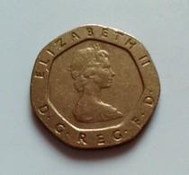 - GRANDE BRETAGNE - Monnaie  Twenty Pence, 1982 (B829) - 1971-… : Monnaies Décimales
