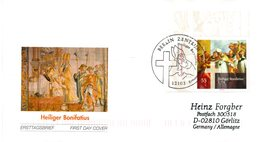 "BRD Schmuck-FDC  ""1250. Todestag Des Hl. Bonifatius"", Mi. 2401 ESSt 6.5.2004 BERLIN - BRD"