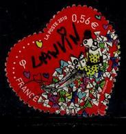 LOTE 1832  ///  France 2010 - YT 4431 - Oblitéré Vague - Saint Valentin - Lanvin - France