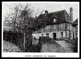 1981  --  ANCIEN PRESBYTERE DE LECAUDE 14  3Q757 - Old Paper