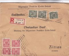 Brief Aus Leipzig 1923 - Allemagne