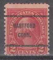 USA Precancel Vorausentwertung Preo, Bureau Connecticut, Hartford 634-61A - Vereinigte Staaten