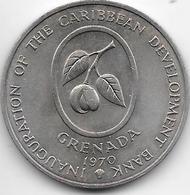 *grenada 4 Dollars 1970  Km 15 Unc - East Caribbean States