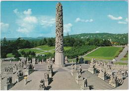 Oslo - Vigelandsanlegget I Frognerparken - Monolitten - The Monolith, Granite Column - (Norge - Norway) - Noorwegen
