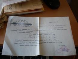 Budpest Dr Sarai Imre Rotacios Fenykepsokszorosito Uzem Kepeslapgyartas 1941 - Factures & Documents Commerciaux