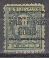 USA Precancel Vorausentwertung Preo, Locals Connecticut, Hartford 204, Perf. 10x10 - Vereinigte Staaten