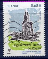 LOTE 1832  ///  France 2011 - YT 4613 -  église Notre Dame De Royan - France