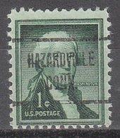 USA Precancel Vorausentwertung Preo, Locals Connecticut, Hazardville 723 - Vereinigte Staaten