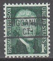 USA Precancel Vorausentwertung Preo, Locals Connecticut, Higganum 839 - Vereinigte Staaten