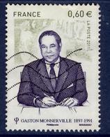 LOTE 1832  ///  France 2011 - YT 4628  - Gaston Monnerville - France