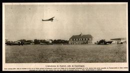 1927  --  L AERODROME DE KASTRUT PRES DE COPENHAGUE DANEMARK  3Q759 - Old Paper