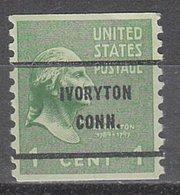 USA Precancel Vorausentwertung Preo, Bureau Connecticut, Ivoryton 839-61 - Vereinigte Staaten