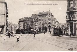 SCHAERBEEK CHAUSSEE D'HAECHT  3 TRAMS - Schaerbeek - Schaarbeek