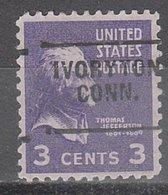 USA Precancel Vorausentwertung Preo, Locals Connecticut, Ivoryton 703 - Vereinigte Staaten