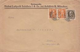 Brief Aus München 1920 - Allemagne