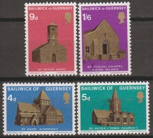 Guernsey 1970 MiN°35-38 4v MNH/** - Guernsey