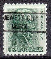 USA Precancel Vorausentwertung Preo, Locals Connecticut, Jewett City 821 - Vereinigte Staaten
